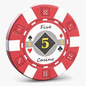 Casino Poker Chip 1 model