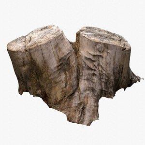 Double Tree Stump model