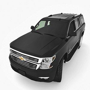 3D Chevrolet Tahoe 2015-19 model