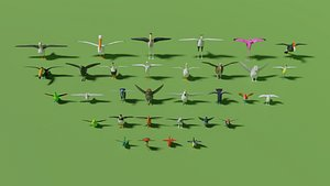 3D Birds Pack