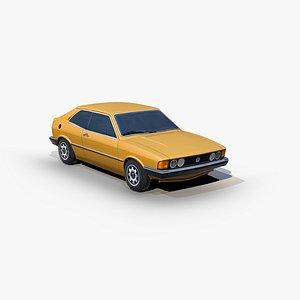 3D Volkswagen Scirocco 1974