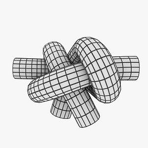 knot bend 3D model