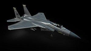 3D F15C Eagle model
