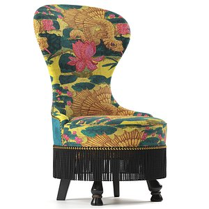 3D Dragonfish Chair By Gucci Home model