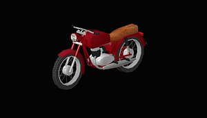 3D model motorcycle pannonia