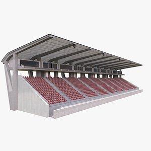 3D stadium stand