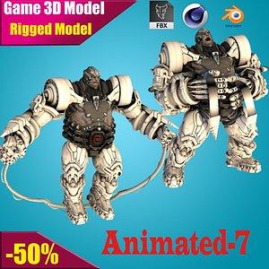 robot bot 3D