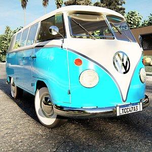 3D model Volkswagen Type 2 model