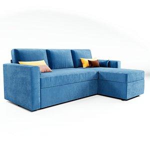 sofa porto 3D model