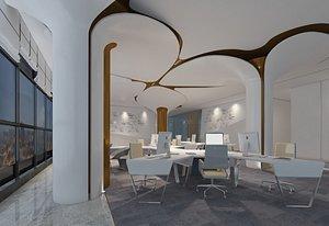 office open space model