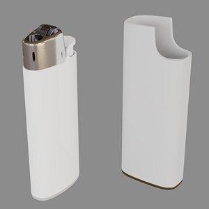 3D pure lighter - model