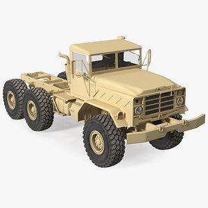 3D model M939 Military Truck Light