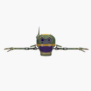 drone medic 3D model