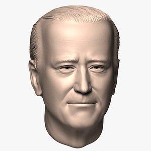 3D Joe Biden head