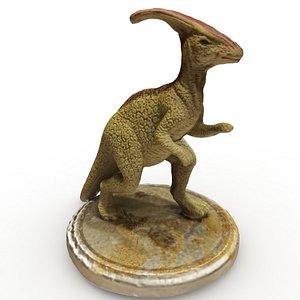 parasaurolophus figurine 3D