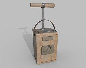 3D TNT Detonator