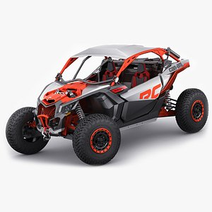 3D Can-Am MAVERICK X RC TURBO RR model