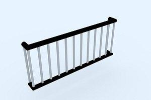 window railing 1 3D model
