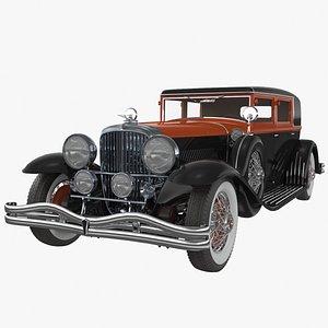 DUESENBERG 1930 3D model