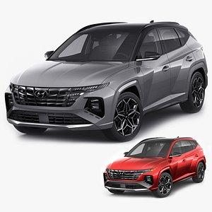 Hyundai Tucson 2021 N-line EU and US 3D