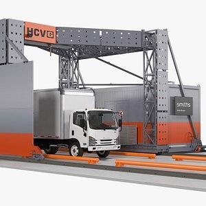 scanner hcvg isuzu truck 3D model