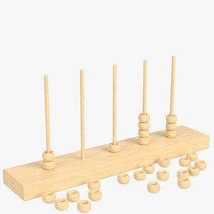 vertical abacus model