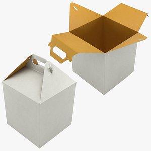 Food Box 03 Set 3D