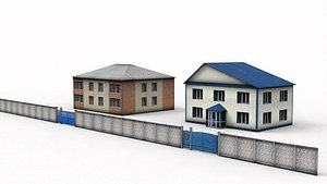 3D Two Storey House