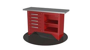 3D Carpenters bench v2