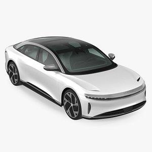 Electric Luxury Sedan Lucid Air 3D model