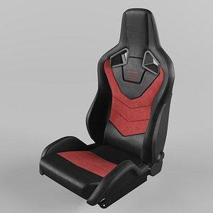 RECARO Sportster GT Red Seat 3D model