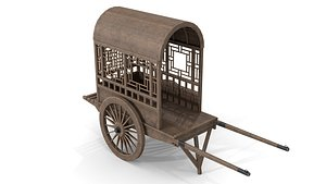 3D model China Cargo Trolley
