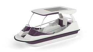3D Fiberglass Pedal Boat