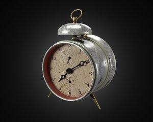 3D alarm clock old model