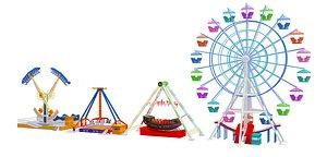 amusement park 3D