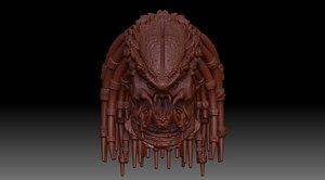 predator character 3D
