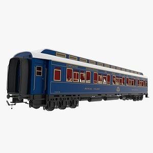 Restaurant Car Orient Express 3D model