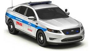 3D Car Police 5