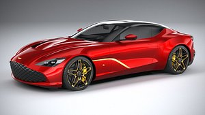 Aston Martin DBS GT Zagato 2020 model