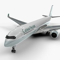 Airbus A350-900 CATHAY Pacific L1118