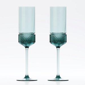 3D diamond point champagne model