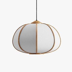 HM Bamboo Pendant Light 3D model