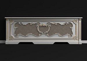 3D radiator screen model