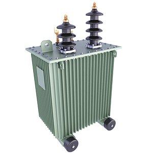 3D transformer power distribution