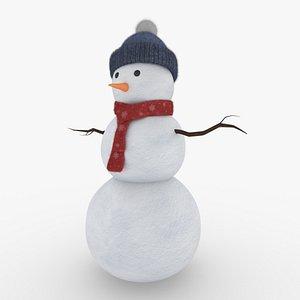 snowman snow 3D