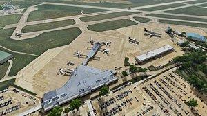 cedar rapids municipal airport 3D model