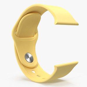 Sport Yellow Band 3D model