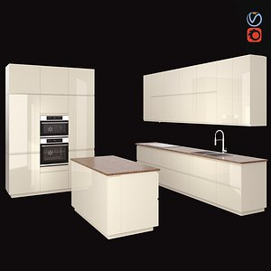 3D kitchen voxtorp