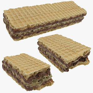 3D biscuit wafer