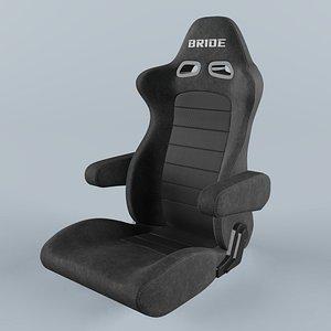 BRIDE EUROSTER II CRUZ Black Seat 3D